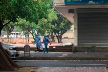 ¡LAMENTABLE! Venezolano en situación de calle murió en una avenida en Cúcuta: presumen que pudo haber padecido Covid-19