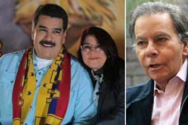"""¡SE PASÓ DE FUERTE! """"Cilia es la niñera de Maduro, todo quien la conoce dice que es más inteligente que él y lo controla"""": La punzante afirmación de Diego Arria"""