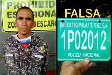 """¡SE PASÓ DE LA RAYA! Detenido un hombre en Caracas tras hacerse pasar por un funcionario de la PNB y """"supervisar"""" una estación de servicio (+Foto)"""