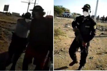 ¡VÉALO! Venezolanos habrían sido expulsados por policías peruanos mientras intentaban regresar al país (+Video)