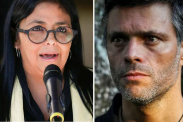 """¡EXPLOSIVO! Nuevo Herald dice que López negoció su salida de prisión con Delcy Rodríguez a cambio de hacer lobby para que EEUU """"ablandara"""" su línea hacia Maduro"""