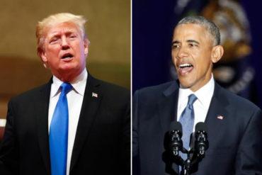 """¡LO SOLTÓ! Obama acusó a Trump de """"usar la presidencia"""" de EEUU como un reality show: """"Fue incapaz de tomarse el trabajo en serio"""" (+Video)"""