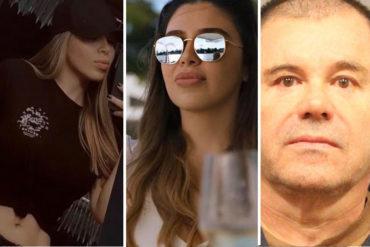"""¡MÍRELA, PUES! Esposa del Chapo Guzmán se habría hecho unos """"arreglitos"""" y presume su pronunciado escote (+Foto +Reacciones)"""