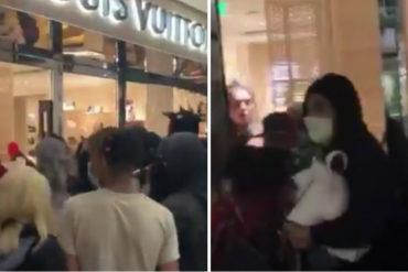 ¡LE MOSTRAMOS! Saquearon tienda Louis Vuitton en Portland durante protestas en EEUU este #30May por muerte de Floyd (+Video +Reacciones)
