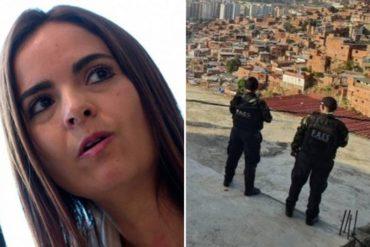 """¡AQUÍ ESTÁ! El filoso dardo que lanzó Tamara Sujú al régimen tras operativo en Petare: """"¿Y cuándo van a ir al 23 de Enero?"""""""
