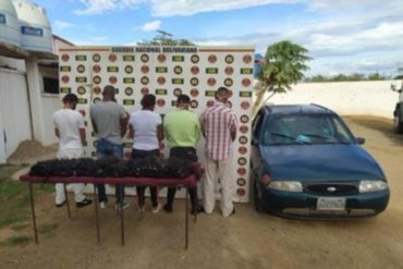 ¡CAPTURADOS! Por contrabandear cabello humano detuvieron a 5 personas en Anzoátegui (+Fotos)