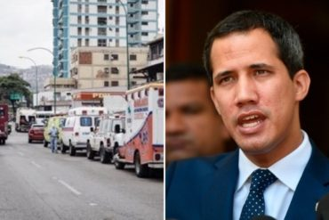 "¡SE SOLTÓ! ""¿Vas a dejar que nos j*dan a todos?"": Guaidó pide a venezolanos mantenerse en protesta hasta lograr la libertad"