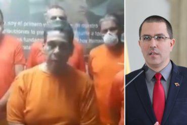 ¡COMO EN LOS SECUESTROS! Arreaza mostró fe de vida de los exdirectivos de Citgo detenidos por el régimen y aseguró que no están infectados con COVID-19 (+Video)