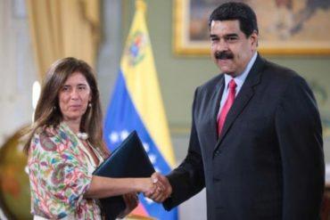 ¡TREMENDO BERRINCHE! Maduro dio 72 horas a la embajadora de la UE en Caracas para que abandone Venezuela tras nuevas sanciones