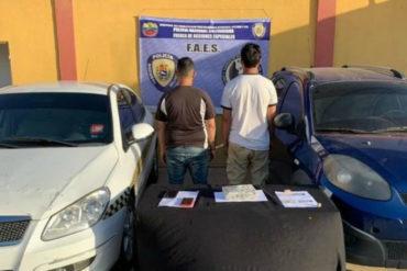 ¡DEBE SABERLO!  Detenidos en Falcón un teniente de fragata y otro de navío por transportar cocaína