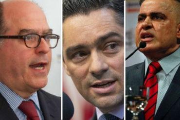 """¡SEPA! """"Cuando declaran denotan su odio"""": Tarek William Saab anuncia orden de arresto contra Vanessa Neumann, Julio Borges y Carlos Vecchio"""