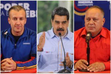 """¡EL MÉDICO! """"Van bien en sus batallas"""": El nuevo reporte de Maduro sobre la salud de Diosdado Cabello, Tareck El Aissami y Omar Prieto"""