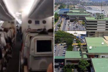 ¡SE ACABÓ LA AGONÍA! Aterrizó en Maiquetía el primer vuelo de repatriación de venezolanos varados en España (+Videos)