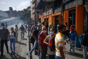 ¡GRAVE! Identifican 5 focos de contagio de covid-19 activos en Caracas (Hay más de 1.800 casos positivos)