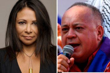 """¡NO SE AGUANTÓ! """"Es mentira la información"""": El datazo de Ibéyise Pacheco sobre la supuesta recuperación de Diosdado Cabello"""