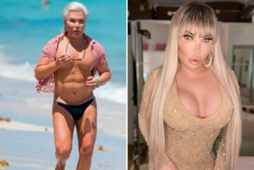 """¡MÍRELO! Así quedó el """"ken humano"""" tras su transformación a mujer: buscaba tener las caderas de Kim Kardashian y los glúteos de JLo (+Fotos)"""