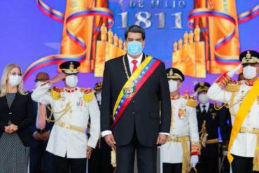 """¿Y NO SALIÓ DE CHINA? El cínico mensaje de Maduro: """"Estamos cortando las cadenas de transmisión del virus colombiano que mandó Duque"""" (+Video)"""