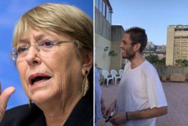 """¡SEPA! """"Es un gesto muy positivo"""": Bachelet reaccionó a la excarcelación de Requesens y abogó por el avance en el diálogo político en Venezuela"""