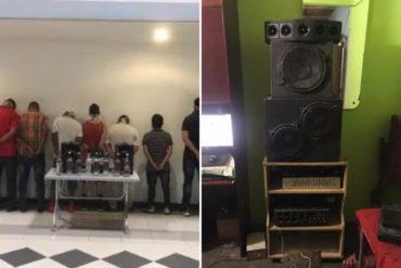 ¡SEPA! Un total de 11 personas fueron detenidas por PoliChacao tras celebrar una fiesta en Bello Campo y violar la cuarentena: Incautaron equipos de sonido (+Fotos)