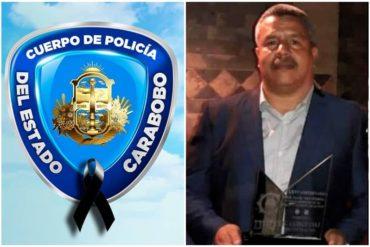 ¡LE DECIMOS! Murió por COVID-19 el jefe de la DIEP de la Policía de Carabobo