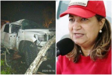 ¡VEÁLO! Así quedó la camioneta del supuesto hermano de Yelitza Santaella tras chocar en Maturín (+Foto)