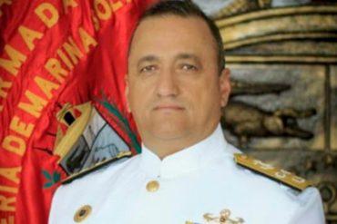 ¡SEPA! Falleció vicealmirante del régimen por complicaciones vinculadas al covid-19