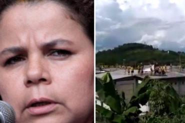 """¡FRONTALES! """"Nos tendrán que matar"""": Reos toman cárcel de Yare III en protesta por muertos y contagios de covid-19 (exigen hablar con Iris Varela +Video)"""
