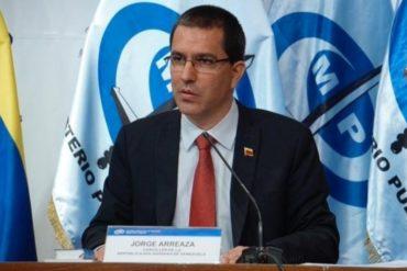 """¡LE CONTAMOS! Arreaza amenaza al diario español ABC con medidas judiciales por publicar """"información falsa"""""""