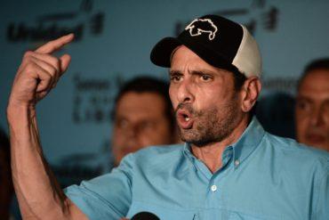 """¡ENFÁTICO! """"El bolívar se acabó"""": El tuit con el que Capriles Radonski denunció el salto imparable del precio del dólar paralelo"""
