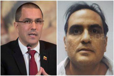 """¡PICA Y SE EXTIENDE! Jorge Arreaza habría advertido a Alex Saab que no debe revelar información """"clasificada"""" del régimen incluso si es extraditado (+Explosivos detalles) (+Documento)"""