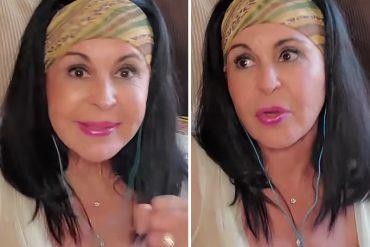 ¡AH, CARAMBA! La curiosa e inesperada revelación de María Conchita Alonso sobre su vida privada y sexual (+Video)