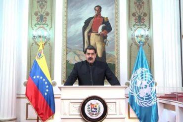 """¡NO LO SUPERA! Maduro acusó a Trump ante la ONU: """"EEUU se conduce erráticamente bajo un gobierno intransigente  y enemistado con la diplomacia"""" (+Video)"""