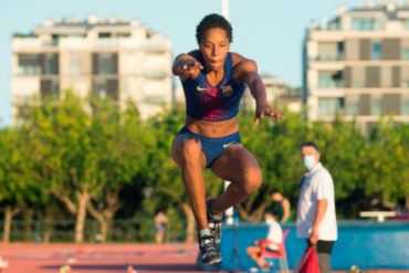 ¡SEPA! Yulimar Rojas realizó en Ibiza la mejor marca mundial del año con un salto de 15,14 metros (+Video)