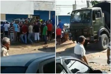 ¡LE CONTAMOS! Un militar resultó herido durante disputa por gasolina en estación de servicio de San Félix: lo agredieron con un tubo (+Video)