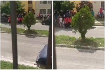 """¡AH, CARAMBA! """"Así paga el diablo a quien bien le sirve"""": reportan el desalojo de chavistas de residencias de la Misión Vivienda en Maracay (+Video)"""