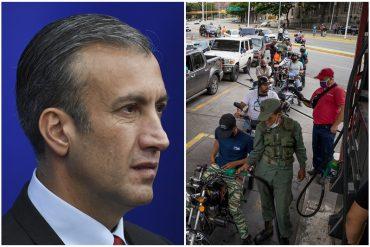 """¿Y ENTONCES? El Aissami desmintió a Maduro: aseguró la producción de gasolina en el país está """"por encima"""" de la demanda nacional (+Video)"""