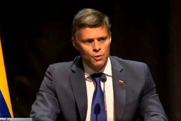 ¡ASÍ LO DIJO! «Venezuela va a ser libre y no por obra y gracia de agentes externos»: El mensaje de Leopoldo López desde el exilio