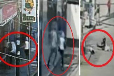 ¡TRÁGICO! Un venezolano mató a su pareja y luego se suicidó en plena calle de Perú: Todo quedó grabado en una cámara de seguridad (+Impactante video)