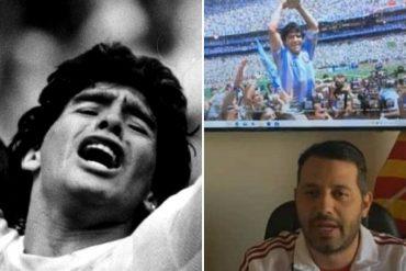 ¡CAUSÓ FUROR! Alcalde chavista de Iribarren decreta día de duelo municipal por la muerte de Maradona y en redes no lo perdonaron (+Reacciones)