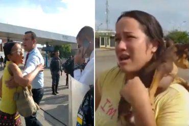 ¡TERRIBLE! Mataron a mujer de 27 años en medio de una discusión por gasolina en Maracaibo: Un funcionario del Cicpc detenido por el caso (+Video)