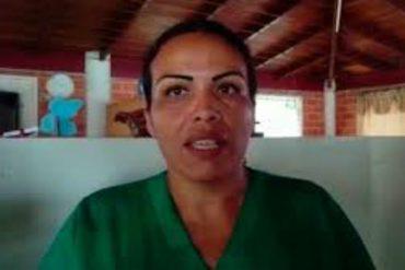 """¡SEPA! """"Suspendieron mi sueldo"""": Enfermera aseguró que fue despedida por denunciar bajos salarios"""