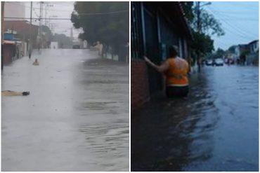 ¡MUY LAMENTABLE! Fuertes lluvias causaron inundaciones en varios sectores de Barquisimeto (+Videos impactantes)