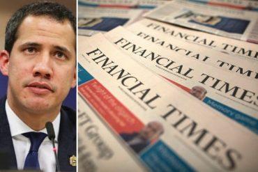 ¡BOMBAZO! Las tres opciones que estaría manejando la UE sobre el reconocimiento a Guaidó luego del #5Ene, según el Financial Times