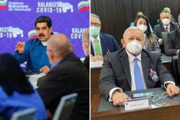"""¡CUÁNTO DESCARO! """"¿Se retiró de la política? ¿Se le fundió el motor? ¿Cómo está Acción Democrática?"""": la pregunta de Maduro a Bernabé Gutiérrez sobre Henry Ramos Allup"""