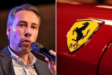 """¡PICA Y SE EXTIENDE! """"Esconde otras cosas"""": lo que reveló este periodista sobre la apertura de un concesionario de la Ferrari en Las Mercedes"""