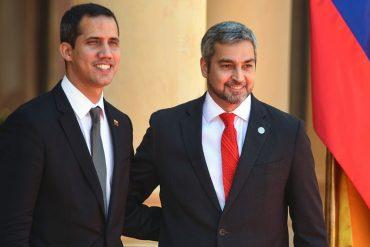 """¡CARAMBA! Movimiento de izquierda de Paraguay propuso enjuiciar al presidente Abdo Benítez por """"contacto secreto"""" con emisario de Guaidó"""