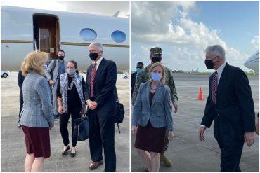 ¡RETUÉRCETE, DELCY! Craig Faller llegó a Guyana para reunirse con líderes de ese país: discutirán sobre la asociación de seguridad bilateral