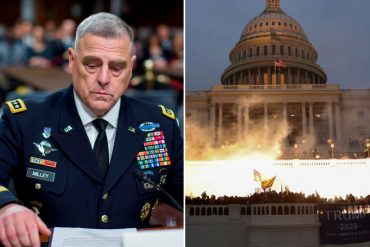 ¡CONTUNDENTE! Cúpula militar de EEUU condenó el asalto al Capitolio: La libertad de expresión  no da a nadie el derecho de recurrir a la violencia