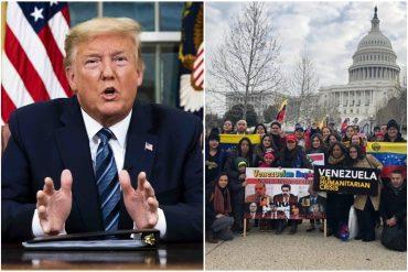 ¡URGENTE! Antes de abandonar la Casa Blanca: Trump firmó decreto que aplaza por 18 meses la expulsión de venezolanos de Estados Unidos