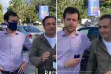 """¡NO LOS PERDONARON! Criticaron a alcaldes Elías Sayegh y Darwin González por """"celebrar"""" la reparación de un semáforo: """"La mediocridad de la política"""" (+Video)"""